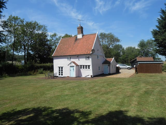 Willow Cottage,Saxtead Bottom,Framlingham - Saxtead - Casa