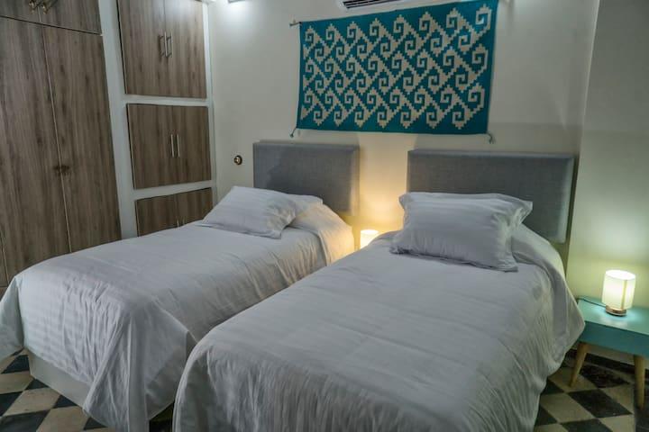 Recamara camas individuales
