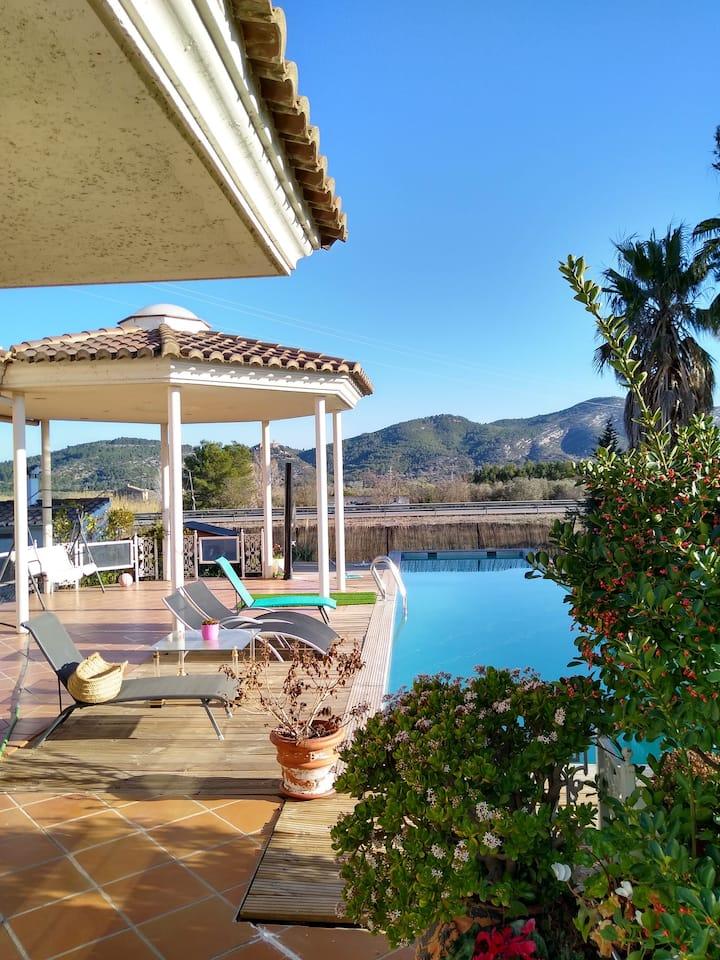 Villa 600m2 en Sant Mateu avec piscine