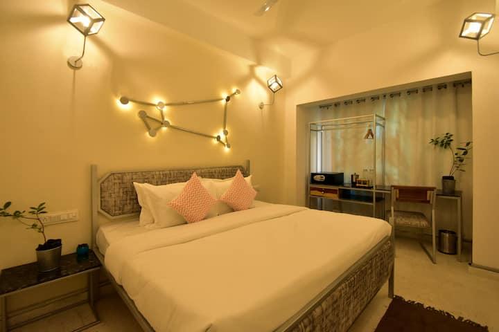 Deluxe Rohini Room at Nakshatra- A Boutique Hotel
