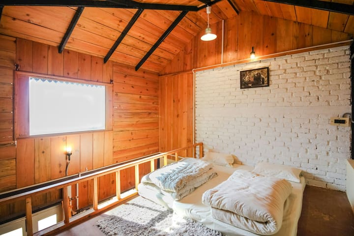The Great Barbet-  Cottage Attic Room