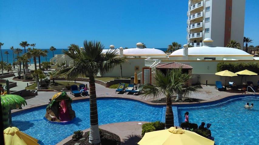 Las Palmas Beachfront Resort Condo - Puerto Peñasco - Condominium