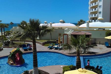 Las Palmas Beachfront Resort Condo - Puerto Peñasco