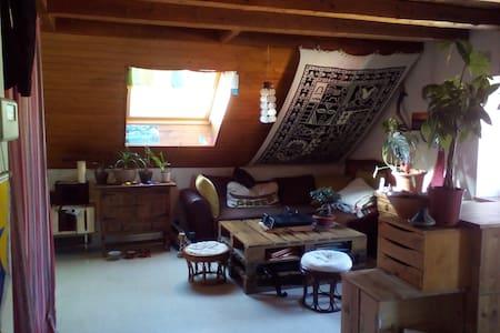 Chambre mezzanine entre Annecy et Genève - Apartmen