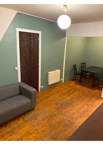 Appartement meublé, refait à neuf