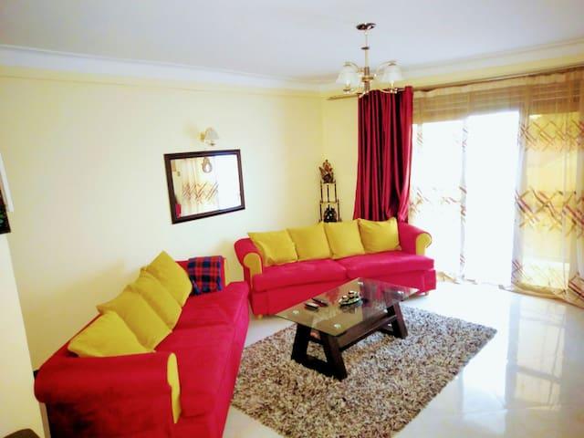 Cozy 2bedroom studio apartment - Kampala - Appartement