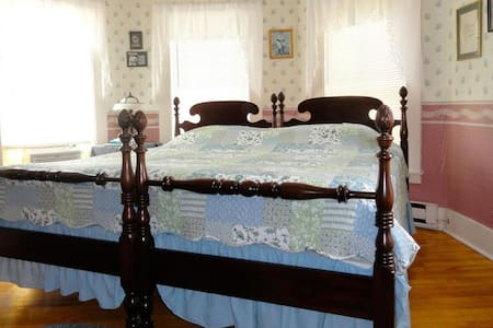 1 King Bed,breakfast,private bath - North Conway