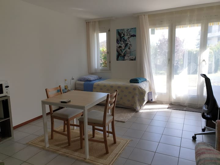 Modern Studio in St.Sulpice (very close to EPFL)