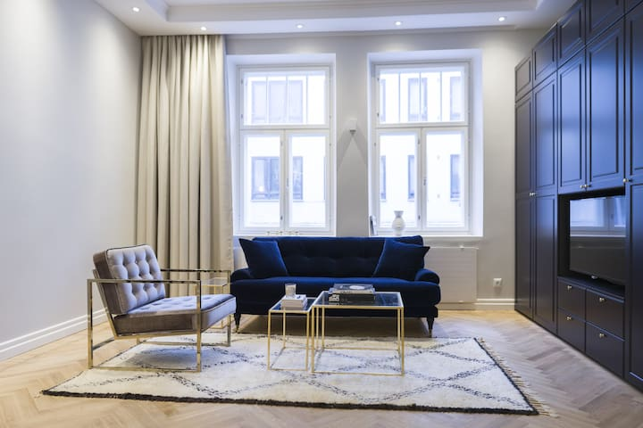 Elegant Modern Studio in the Centre of Helsinki - Helsinki - Apartment