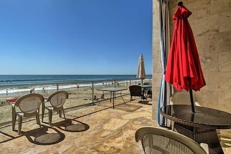 Cozy Beachfront Studio - Walk to Carlsbad Village!