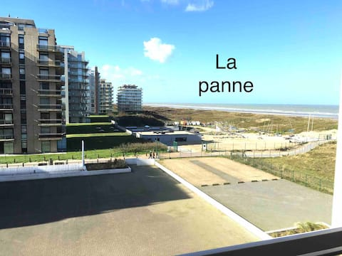 The Panne studio sea view and heated pool
