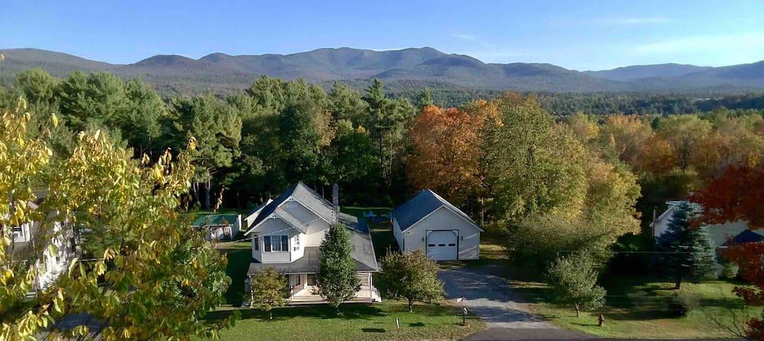 Modern Mountain Farmhouse - 7 Miles to Whiteface!