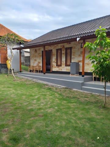 Modern balinese style in canggu