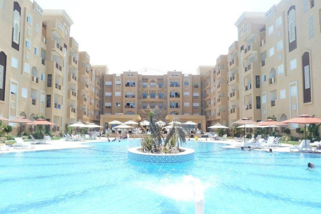 Residence folla aqua resort 5 etoile appartements en for Meuble 5 etoile tunisie