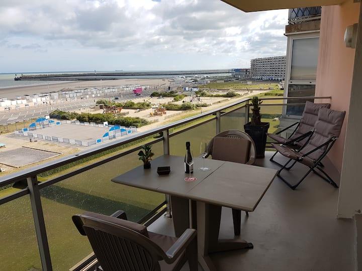 Appartement Plage Calais 1ch 75m2meublé tourisme3*
