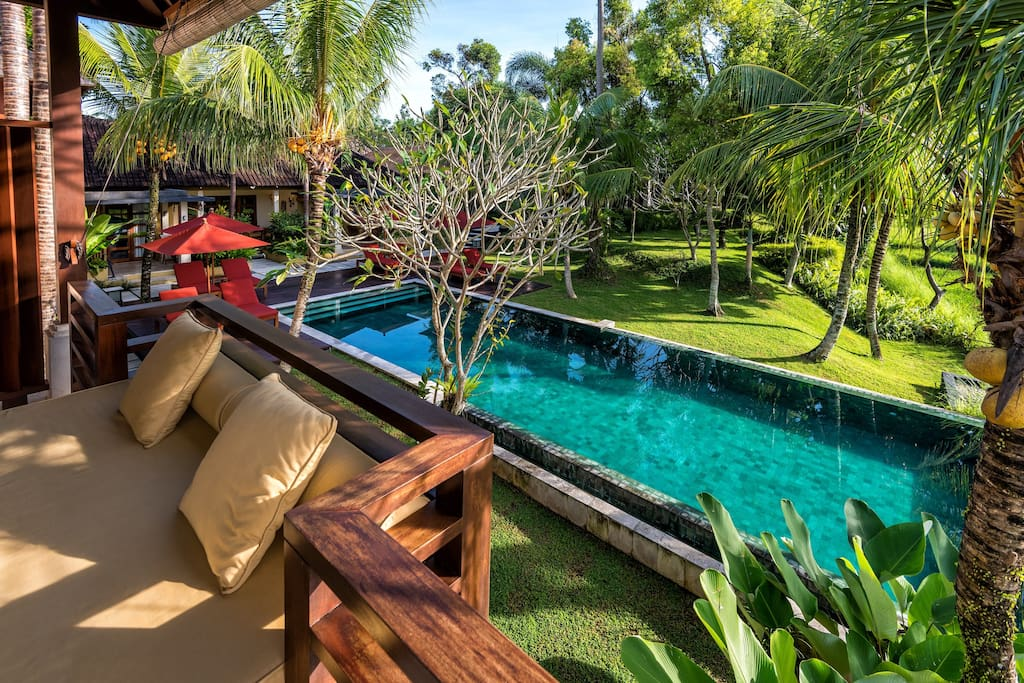 Pool from Barong balcony
