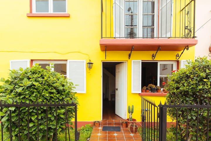 Céntrica casa en patrimonial barrio de La Serena