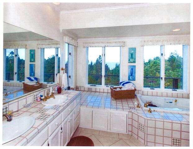 Mendocino Sea Breeze Estate Cottages!  Ocean Views - Little River - Σπίτι