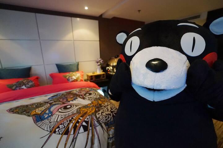 【多吉&自在熊本熊】 市中心 武林广场地铁站旁 - Hangzhou - Apartemen