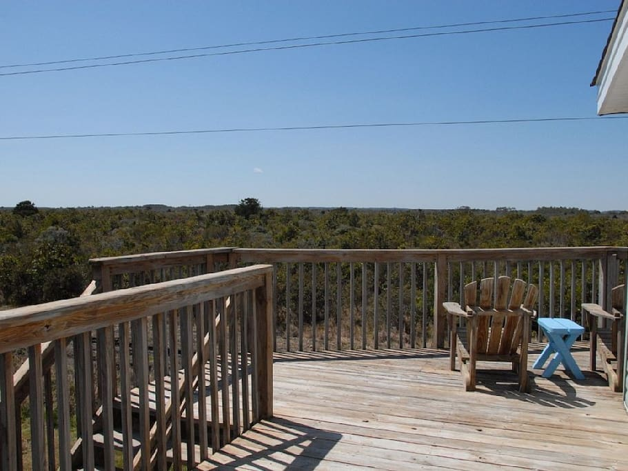 View off the back deck! 4 Miles!!!!!!!!!!!!!