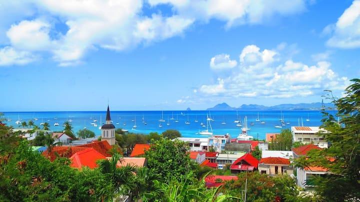 Villa Le Paradis VUE MER plages et village à pied