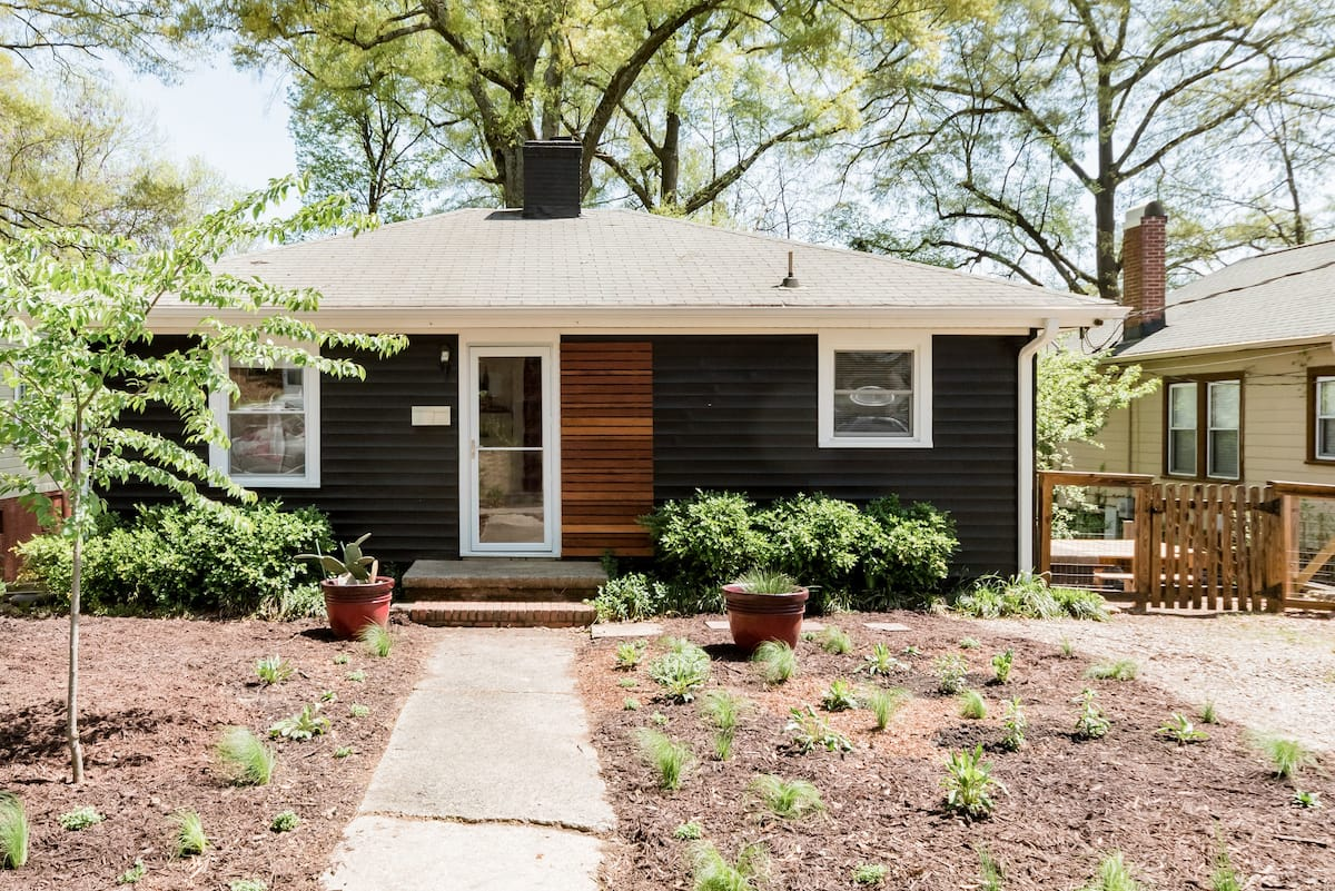Artsy Charm in a Cheerful Renovated 50s Cottage