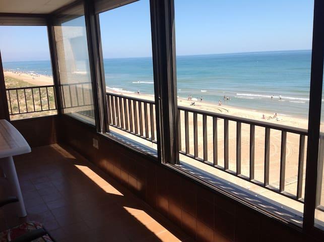 Apartamento primera línea de playa en Mareny Blau - Mareny Blau - Huoneisto