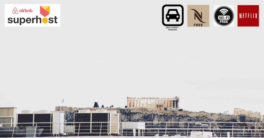 Acropolis & Lycavettus View Roof House
