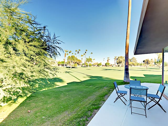 Fire up the gas grill and throw a family cookout on the private patio.