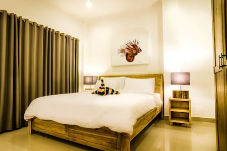 Poolside Twin Room+Terrace - Blue Marlin Trawangan - Pemenang - Boutique-hotelli