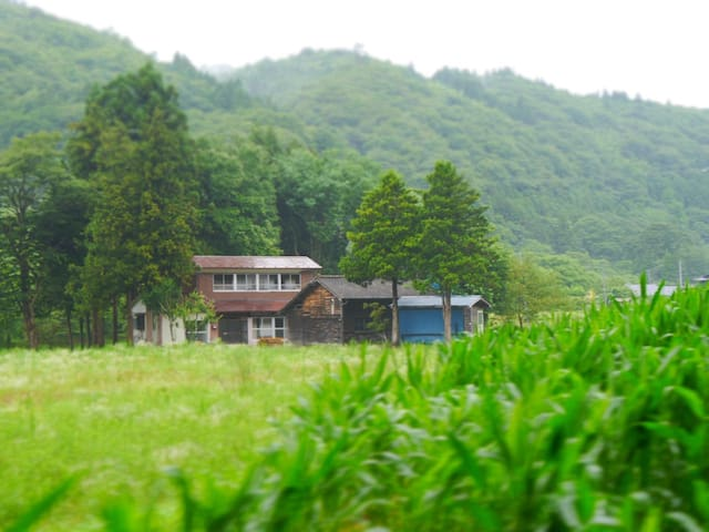 BAKKE◆Japanese RETRO country house◆shuttle service