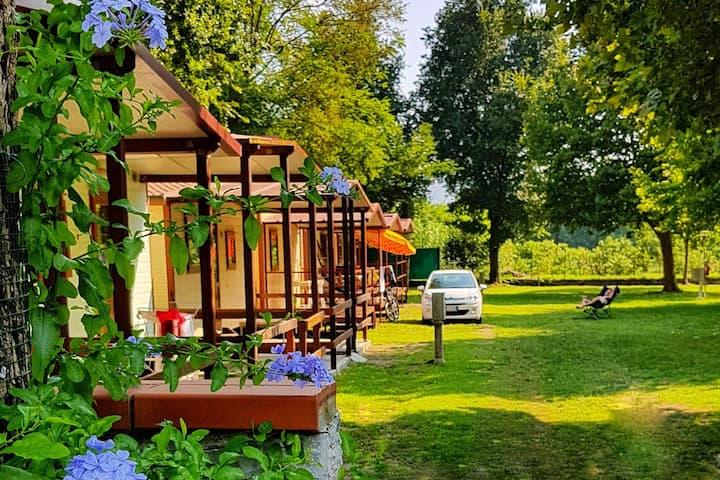 Casa mobile 6 posti letto con parcheggio e wifi