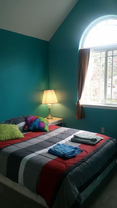 Bedroom #1 (queen mattress)