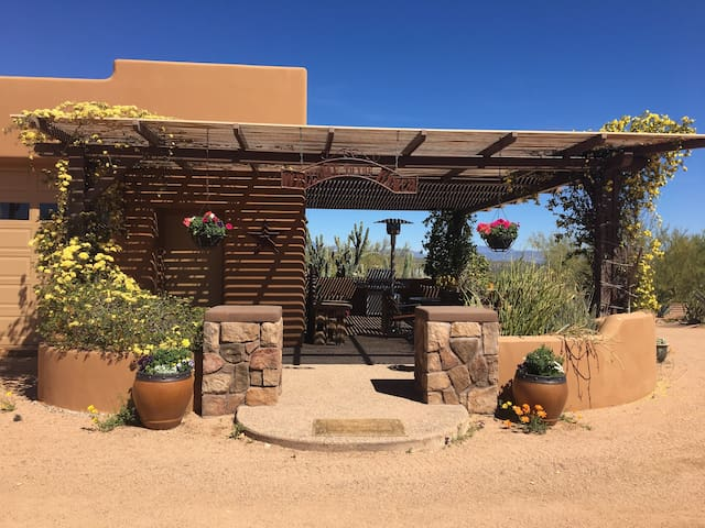 Western Casita 62 acre Eco Ranch - Sonoran Desert - Scottsdale - Σπίτι
