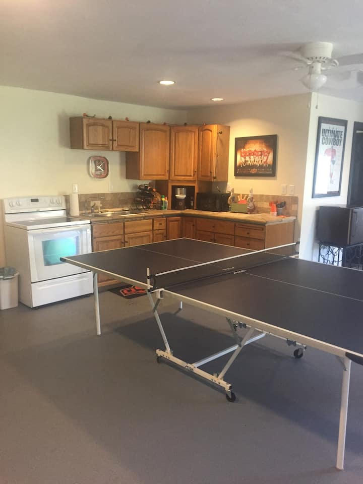 Garage apartment in Stillwater Oklahoma
