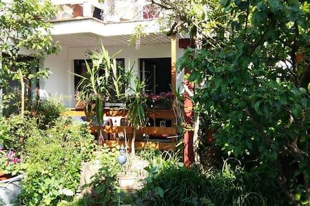 Gemütliche FeWo mit Gartenblick