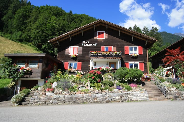 Comfy Apartment in Vandans with Garden & Skiing Nearby,