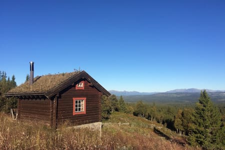 Gjøta, remote cabin and quiet surroundings