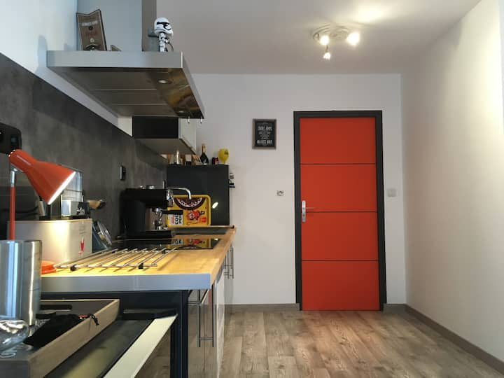 Appartement Cosy Cherbourg Centre 600m Naval Group
