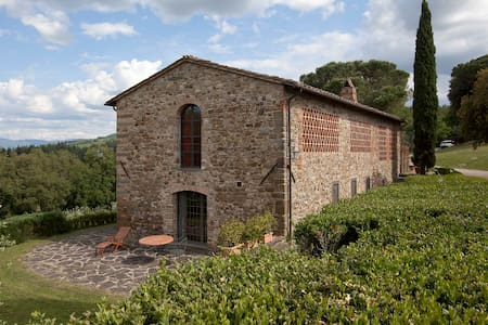 Rural Tuscany | Independent farmhouse with pool