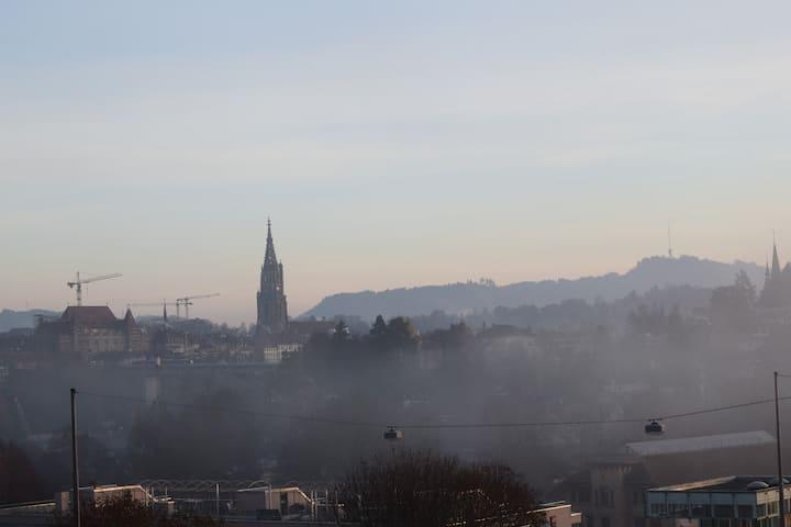 Charmante Studio mit Panorama Blick