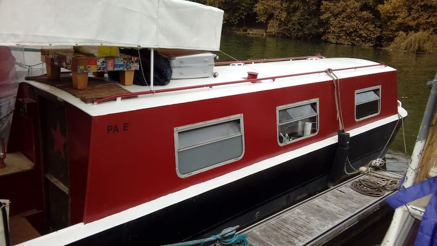 Studio flottant 14m² (narrow boat)