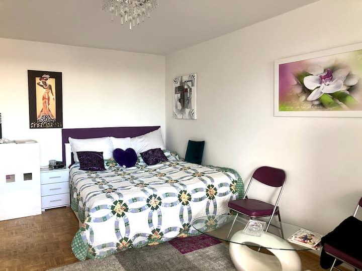 1 Zimmer Wohnung bis Ende April zu vermieten