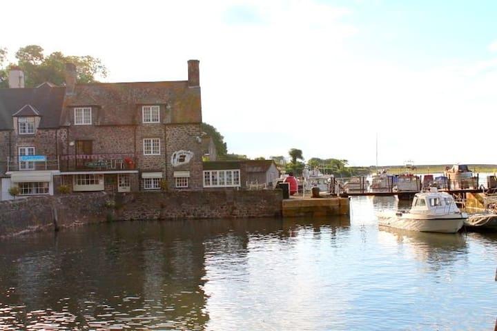 Harbourside holiday apartment in Porlock Weir - Porlock Weir - Byt