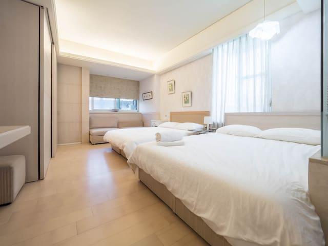 Taipeicity4GUESTexstraCHEAPhighconfortstudio - Zhongshan District - Apartamento