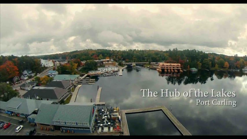 Charming Port Carling * Hub of the Lakes Muskoka