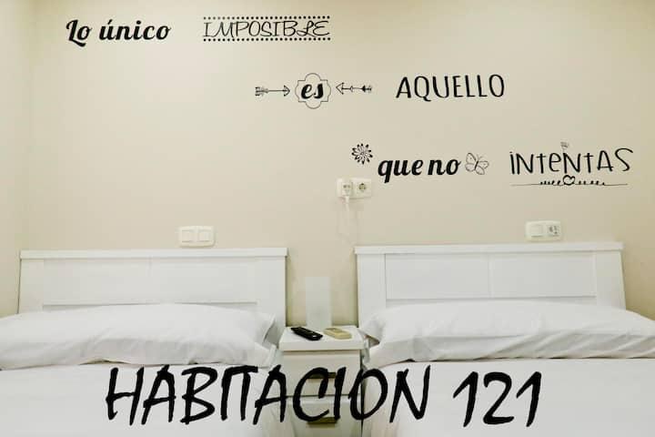 Habitación ALBERO  121