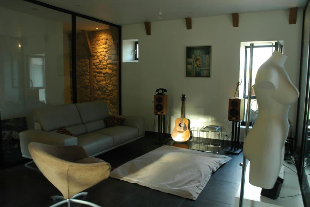 Living room & espace détente
