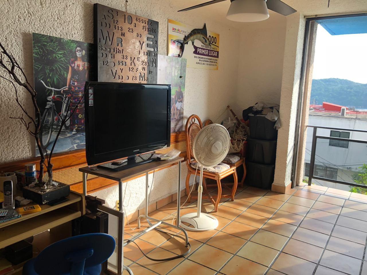 TV con Cromecast e internet.