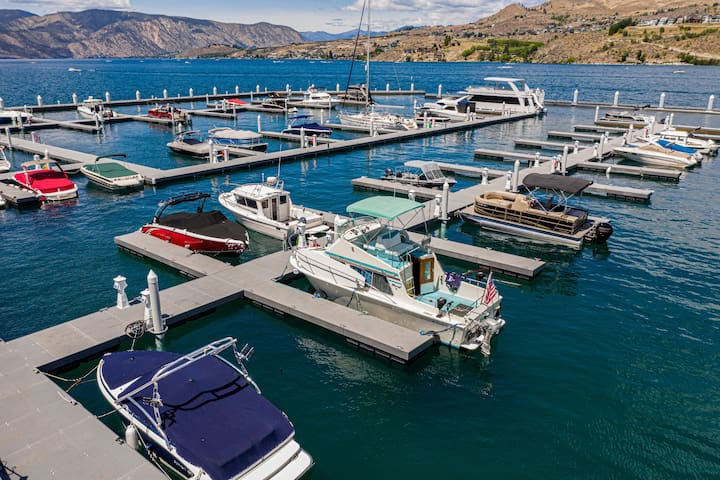 Lil Yachty on Lk. Chelan,  RV/Condo  on the water